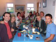 Group at Fisherman's Cottage - Inis Oirr - Aran Island Bed and Breakfast